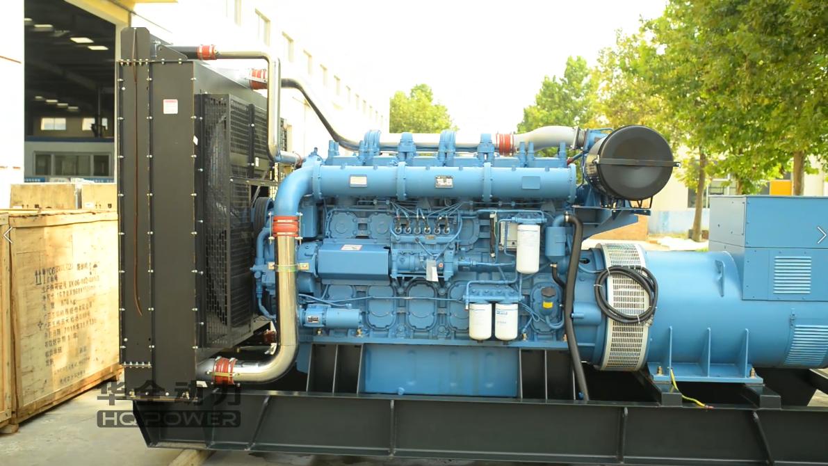 1000kw玉柴开架发电机组(卓越蓝)
