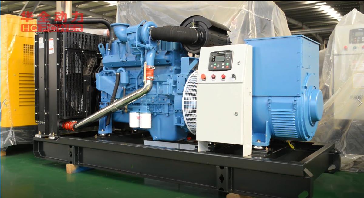 300kw玉柴发电机组(卓越蓝)