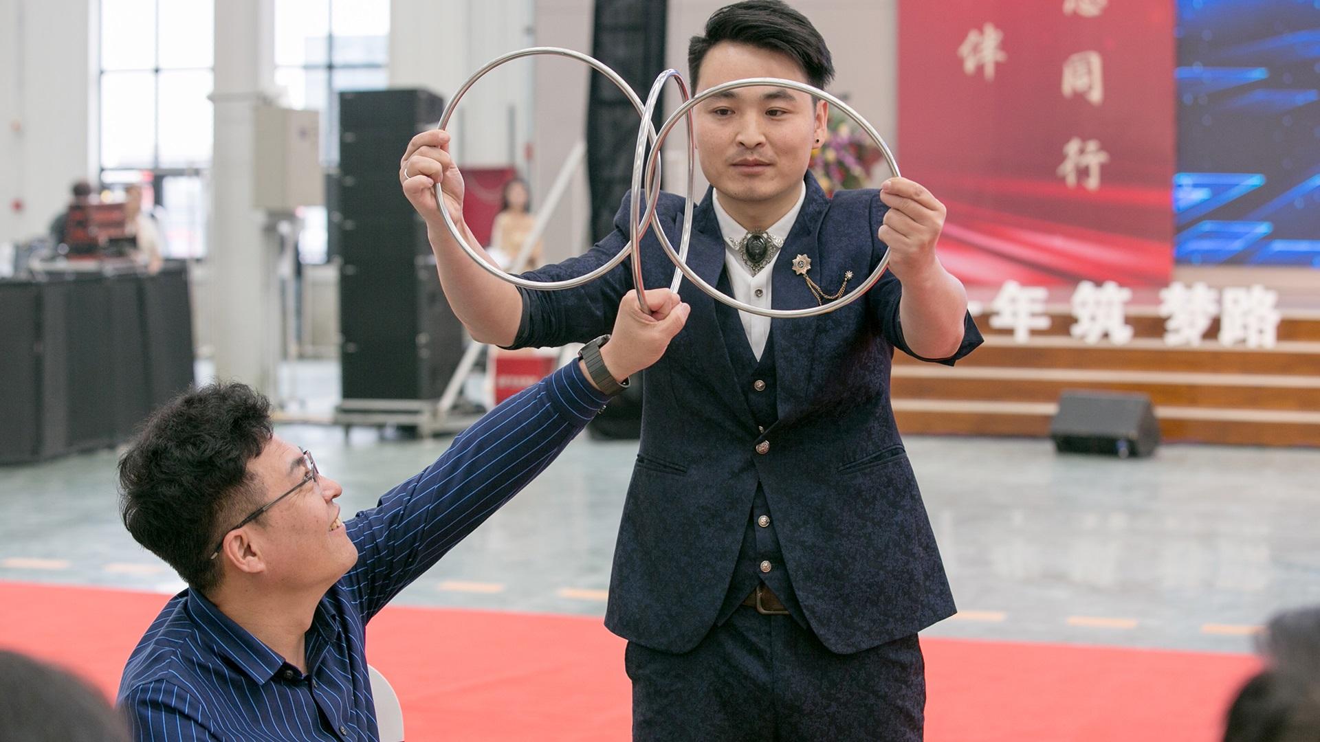 华全集团十周年庆典活动——《魔术表演》
