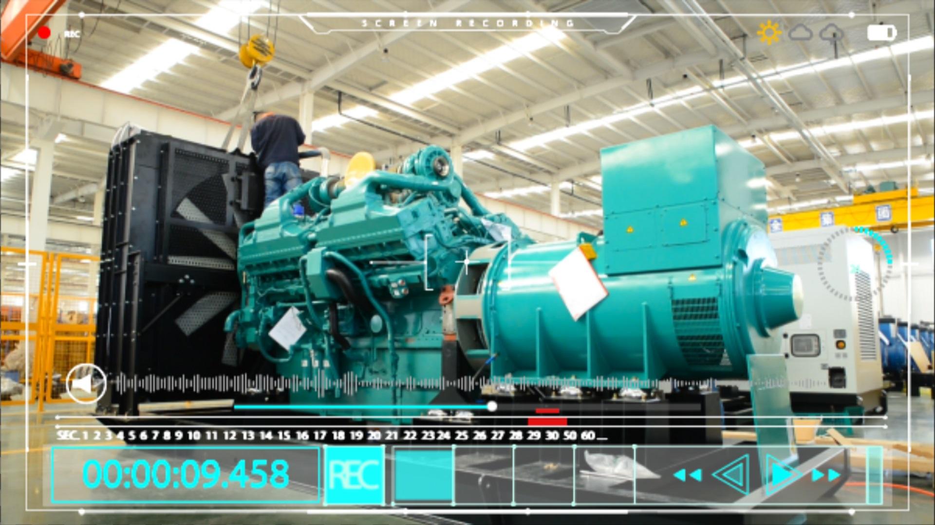 华全动力 智能装备到信息化管理平台的全数字化工厂宣传片