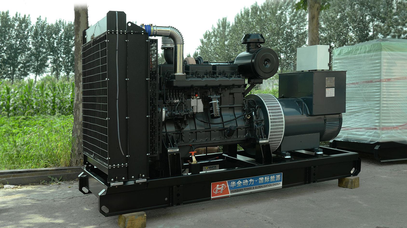 450kw上柴发电机组